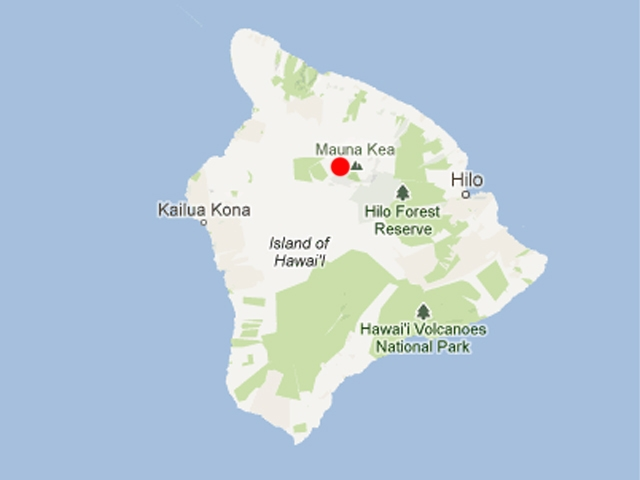 Related Keywords & Suggestions for mauna kea map